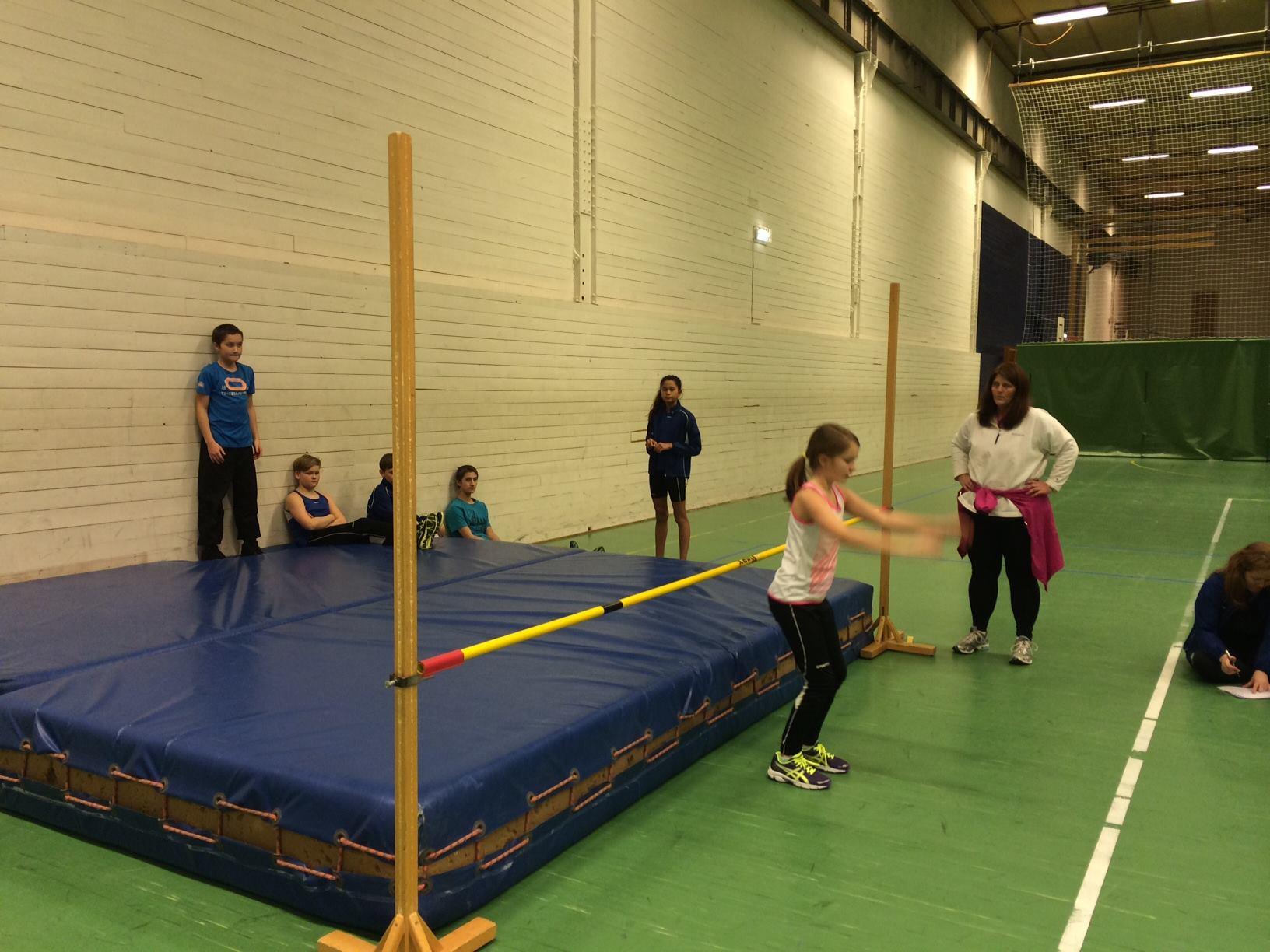 27 utøvere deltok på treningsstevne i Såheimshallen
