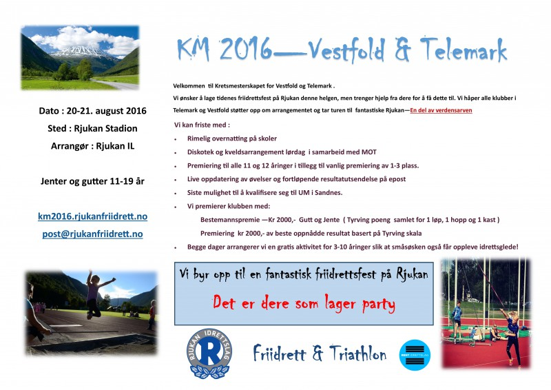 Invitasjon til KM