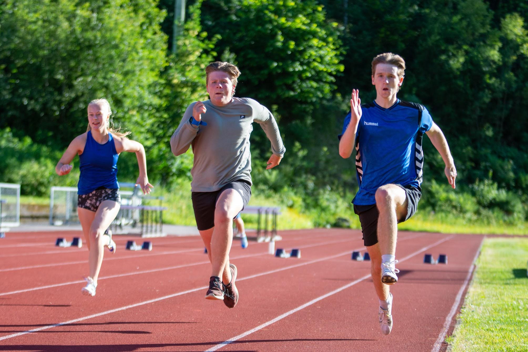 Heatoppsett løp Telemarkskarusellen 1 20. juni 2020